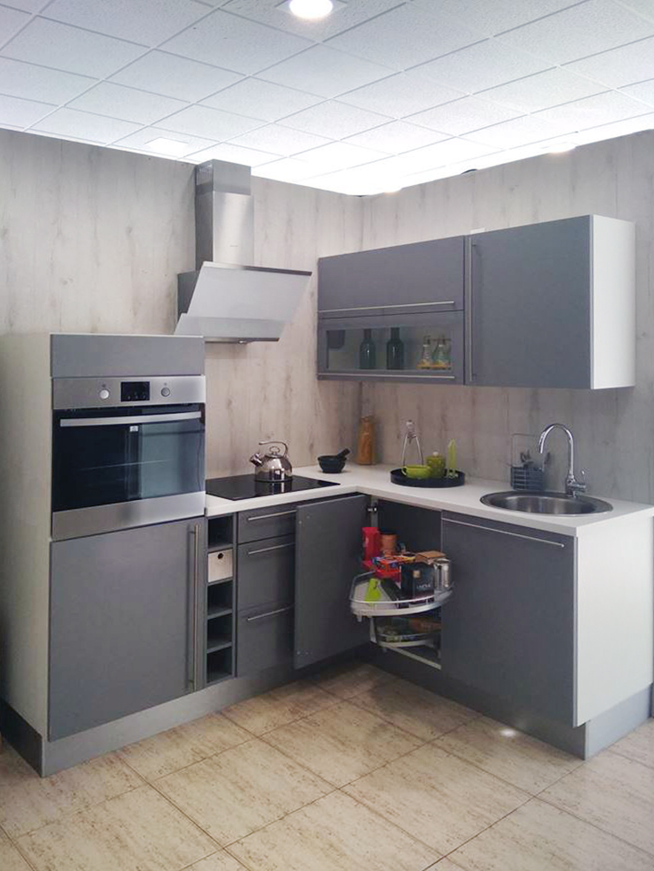 cocina gris L